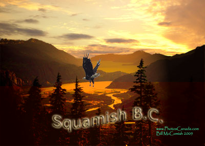 The Squamish valley has some of the most spectacular tracts of glacier crowned mountains, cascading rivers and ancient forests to be found anywhere in the world.